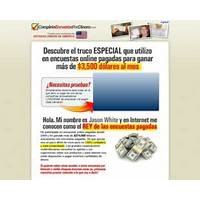 Completa encuestas por dinero spanish version of takesurveysforcash scam?