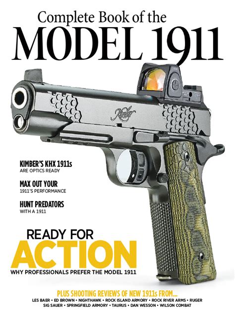 Complete Book Of Handguns