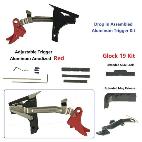 Complete Glock 19 Lower Parts Kit