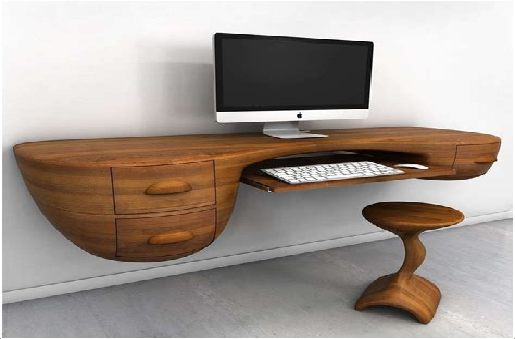 Computer desk design plans Image