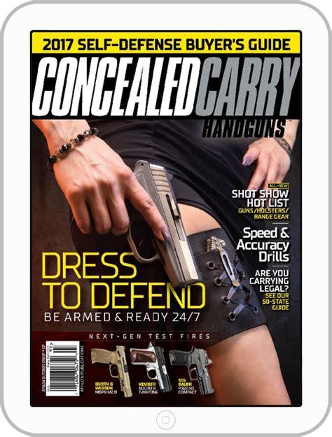 Concealed Carry Handguns Magazine Subscription