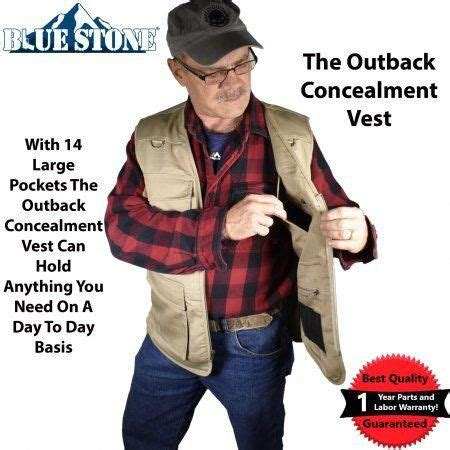 Concealed Carry Vest Hunting Archery Equipment Bizrate