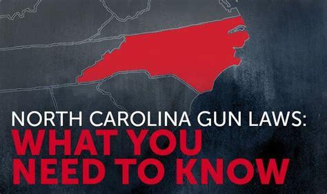 Concealed Handgun Laws In North Carolina