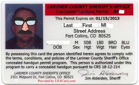 Concealed Handgun License In Colorado