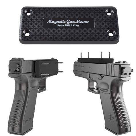 Concealed Magnetic Handgun Magnet Mount 1
