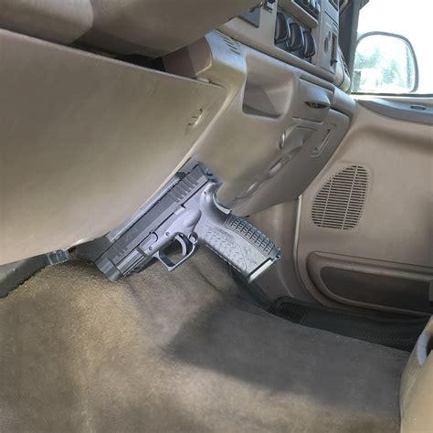 Concealed Magnetic Handgun Mount Review