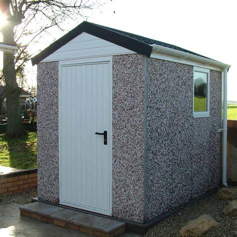 Concrete storage shed Image