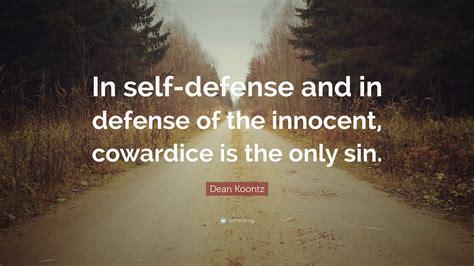 Confucious Self Defense Quote