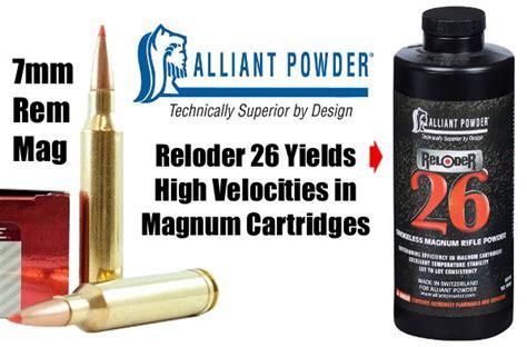 Consider Alliant Reloder 26 For Magnum Cartridges Daily