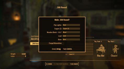 Console Command Fallout 4 7 62 Ammo