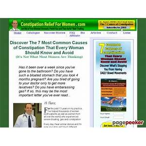 Constipation causes for women: rid yourself of bloating, flatulence and fatigue promo codes