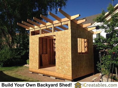 Constructing a shed roof Image