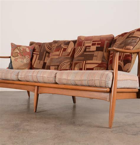 Contemporary Wood Sofa