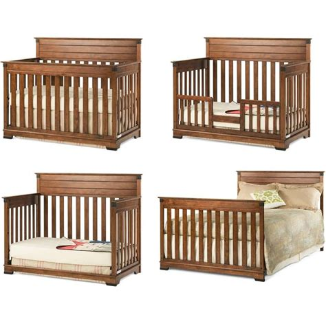 Convertible baby crib woodworking plans Image