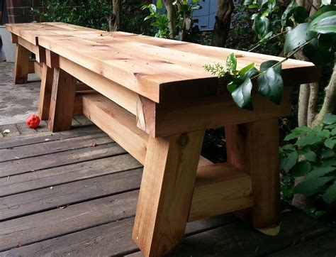 cool deck bench designs ideas and plans to build on your next diy woodworking project Image