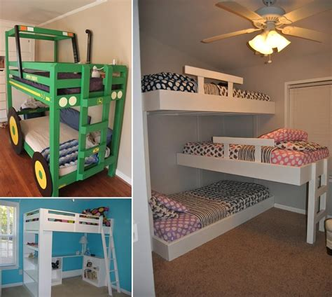Cool kids loft bed plans Image