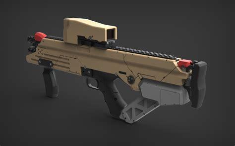 Cousar Crowe Assault Rifle