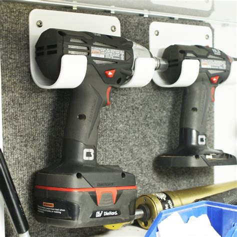 Cordless drill holder Image
