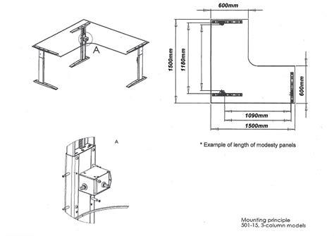 Corner Office Desk Dimensions