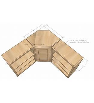 Corner Upper Cabinet Plans