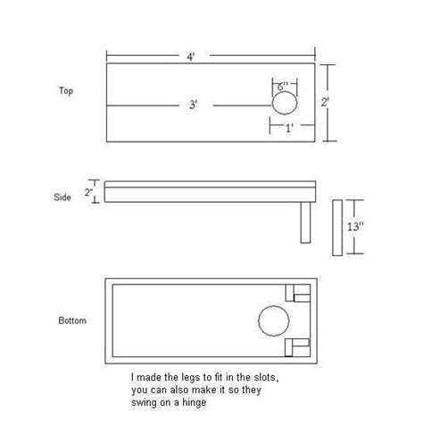 cornhole board specs.aspx Image