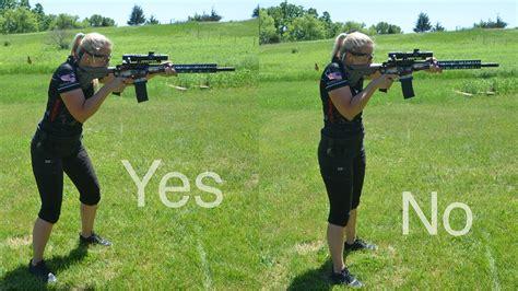 Correct Shooting Stance Rifle