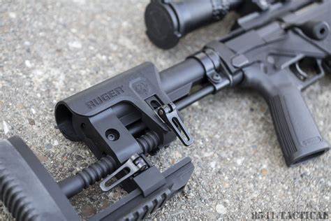Correct Way To Adjust Buttstock On Ruger Rpr