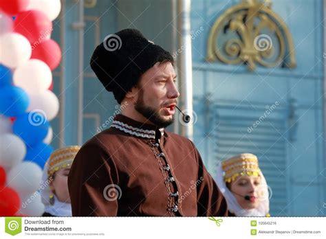 Cossack Singer With Shotgun Shells