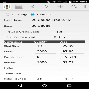 Cost Calculator For Reloading Shotgun Shells
