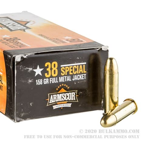 Cost Of 38 Special Ammo
