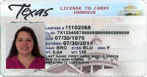 Cost Of Handgun License In Texas