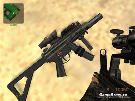 Counter Strike Source Mp5 Sound And Dayz Mp5 Iron Sights