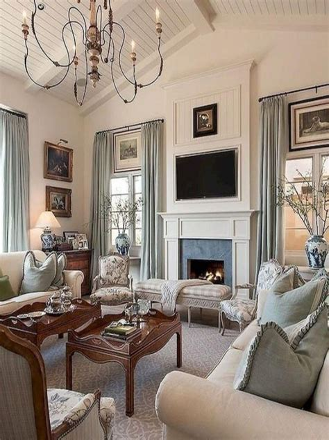 Country Living Room Interior Design