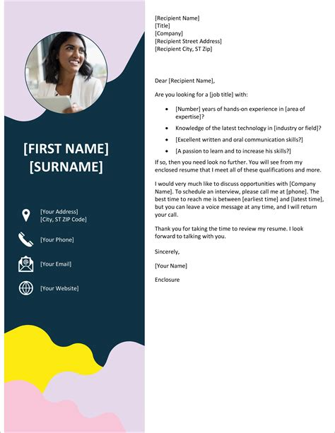Cover For Resume Margins Good Cover Letter For It Position