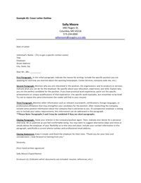 Great Cover Letter Examples For College Students