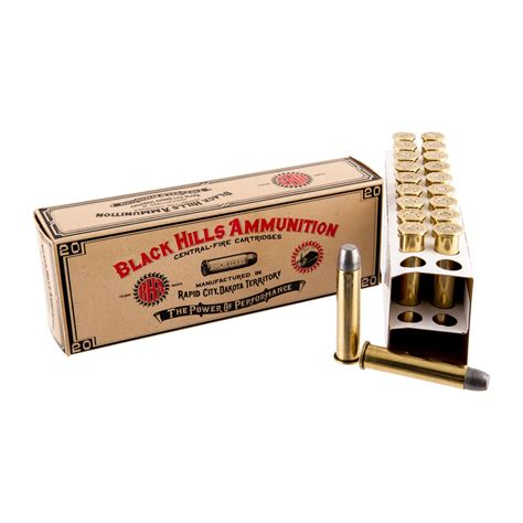 Cowboy Action Ammo 4570 Government 405gr Lead Flat Point