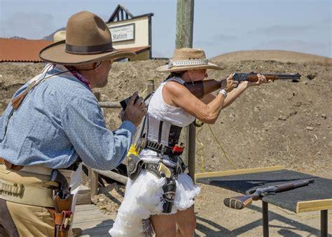 Cowboy Action Shooting Long Range Rifle