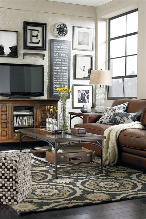 Cozy Living Room With Tv