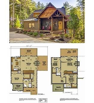 Cozy Log Cabin Floor Plans