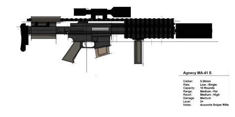 Crackdown 3 Sniper Rifle