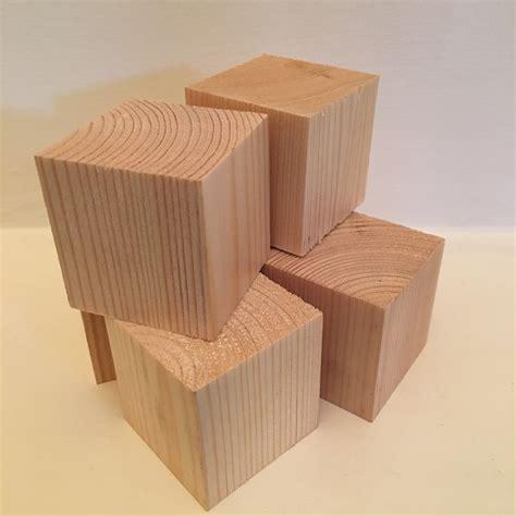 Craft wood blocks Image
