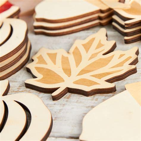 Craft wood cutouts Image