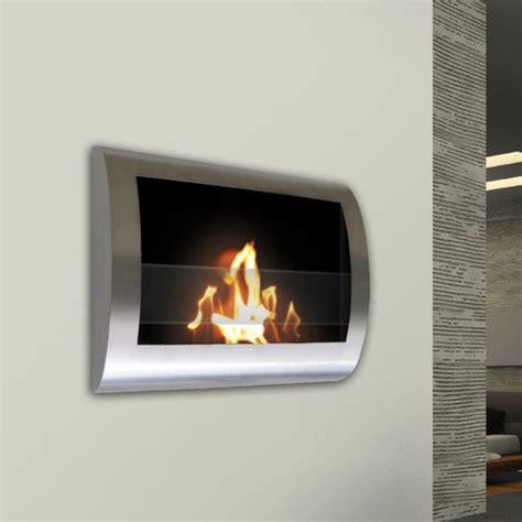Crafton Wall Mounted Bio-Ethanol Fireplace