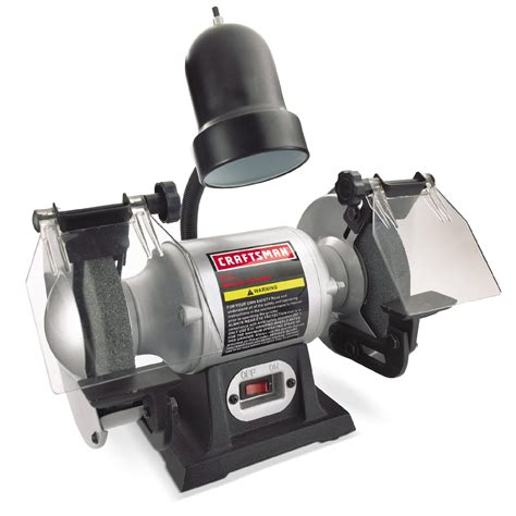 craftsman 1 6 hp 6 bench grinder with lamp 21124 pdf manual