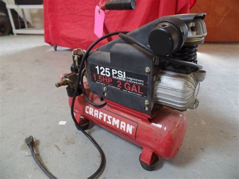 craftsman 1.5 hp 3 gallon air compressor pdf manual