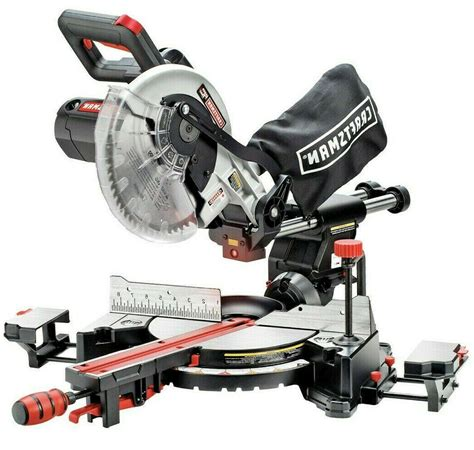 craftsman 10 in sliding compound miter saw pdf manual
