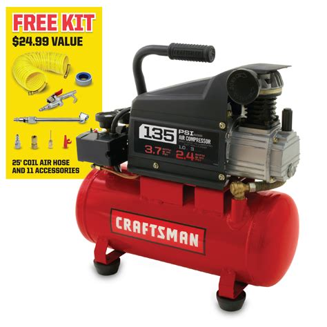 craftsman 1hp 3 gallon air compressor pdf manual