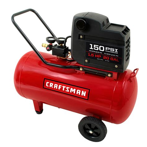craftsman 20 gallon air compressor 1.5 hp 150 psi pdf manual