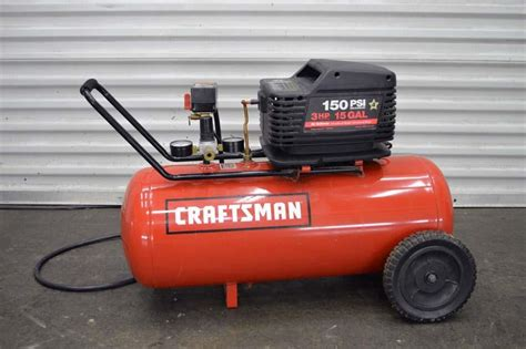 craftsman 3hp air compressor pdf manual