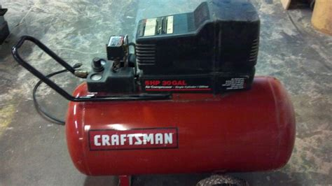 craftsman 5.5 hp 30 gallon air compressor specs pdf manual